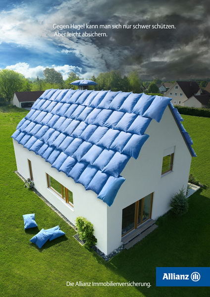 Allianz Insurance - It is hard to protect yourself from hail. But easy to ensure..jpg
