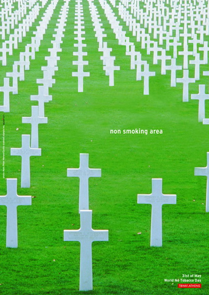 Anti-Smoking - Non Smoking Area.