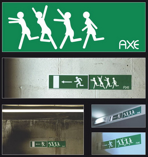 Axe - Emergency Exit Sign