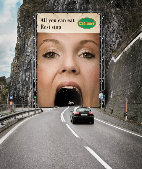 Billboard - (Oltimer Restaurants) - All you can eat rest stop