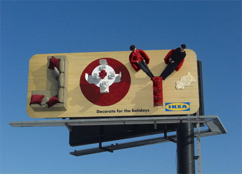 Billboard - IKEA_Decorate for the holidays .