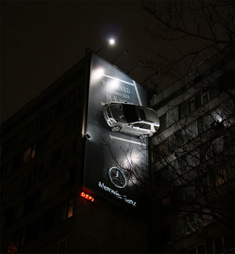 Billboard - Mercedes.