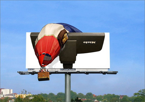 Billboard - Miele Vacuum Cleaner.