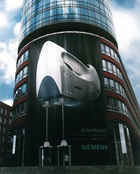 Billboard - Siemens Kitchen Mixer