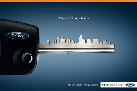 Ford - The city is in your hands.
