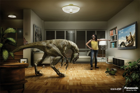 Panasonic 3D TV - Dino