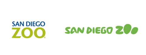 Successful Logo Redesign - San Diego Zoo