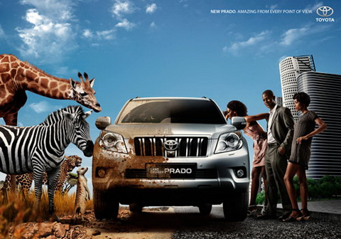 Toyota Prado - Amazing from every point of view.