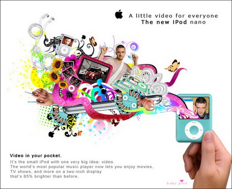 iPod nano - A little video for everyone.