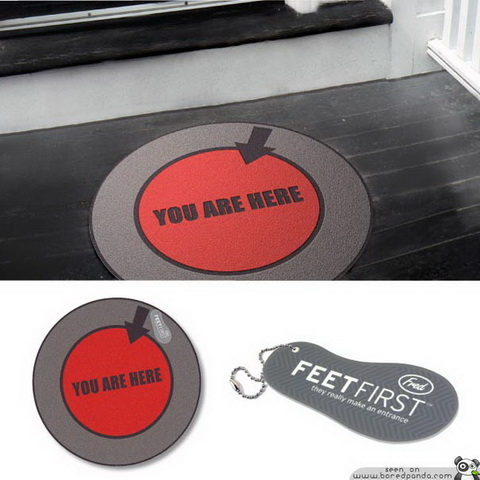Fred & Friends - Feet First_You are Here.jpg
